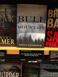 At least they had Bull Mountain by Brian Panowich, though he's on a big publisher, it's one of the best noir books I've read this year (I love rural noir)